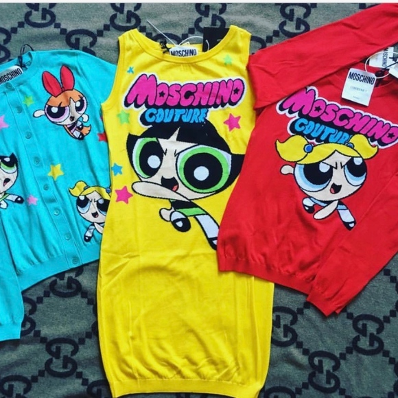 c85dec9cea Moschino Dresses | Couture Jeremy Scott Powerpuff Girls Butt | Poshmark